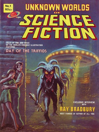 Day of the Triffids—Unknown Worlds of Science Fiction (Yaffa, 1977? series) #1  ([1977?])