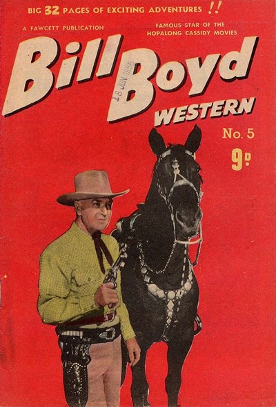 Bill Boyd Western (Cleland, 1955? series) #5 ([May 1955?])
