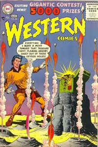 Western Comics (DC, 1948 series) #58 (July-August 1956)