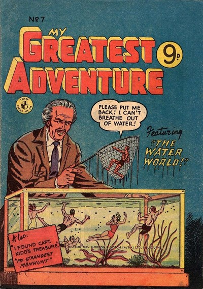 My Greatest Adventure (Colour Comics, 1955 series) #7 ([October 1955?])