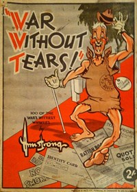 War without Tears 100 of the War's Wittiest Whimsies (H. B. Armstrong, 1942?)