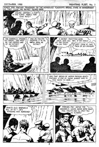 """Punch"" Perkins of the Fighting Fleet (Red Circle, 1950 series) #2 — Untitled (page 1)"