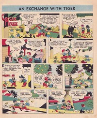 Ginger Meggs Annual (ACP, 1952 series)  — An Exchange with Tiger (page 1)