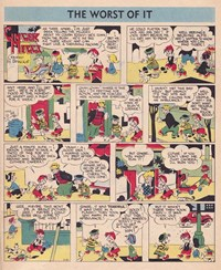 Ginger Meggs Annual (ACP, 1952 series)  — The Worst of It (page 1)