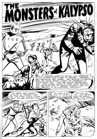 The Monsters of Kalypso, Page 1—Planet Series 3 (Murray, 1980 series) #11  ([December 1980?])