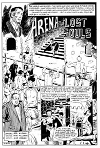 Planet Series 2 (Murray, 1979 series) #7 — The Arena of Lost Souls (page 1)
