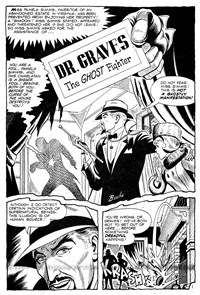 Planet Series 2 (Murray, 1979 series) #7 — Dr. Graves the Ghost Fighter (page 1)