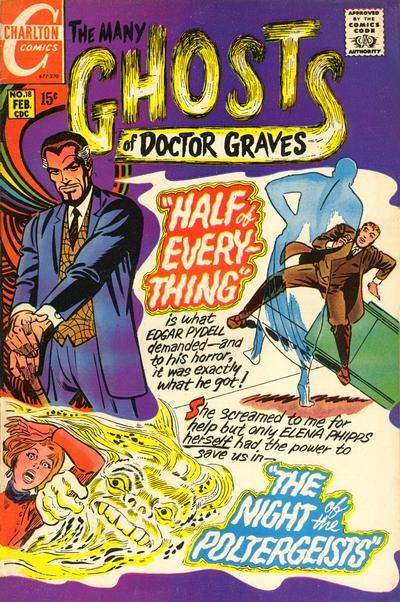 The Many Ghosts of Dr. Graves (Charlton, 1967 series) #18 (February 1970)