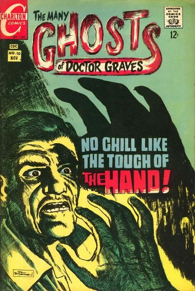 The Many Ghosts of Dr. Graves (Charlton, 1967 series) #10 (November 1968)