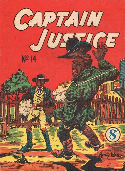 Captain Justice (New Century, 1950 series) #14 ([January 1952?])