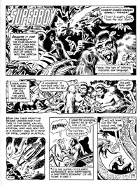 Superman Supacomic (KG Murray, 1974 series) #178 — Karkan The Mighty--Lord of The Jungle! (page 1)