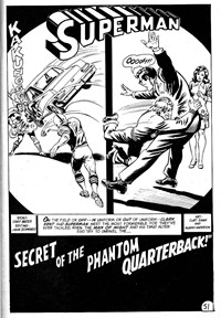 Superman Supacomic (KG Murray, 1974 series) #178 — Secret of The Phantom Quarterback (page 1)