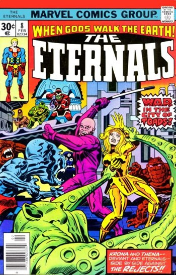 The Eternals (Marvel, 1976 series) #8 (February 1977)