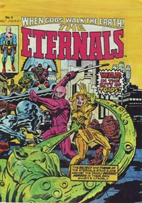 The Eternals (Yaffa, 1980 series) #5 — War in the city of Toads!