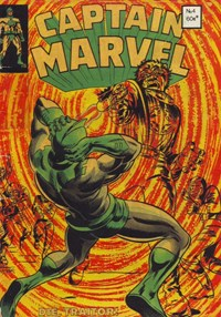 Captain Marvel (Yaffa/Page, 1977 series) #4
