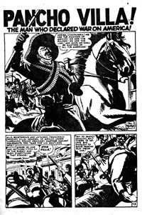 Battle Action (Horwitz, 1954 series) #12 — Pancho Villa! (page 1)