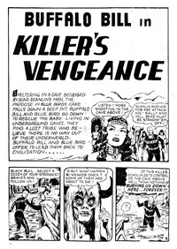 Killer's Vengeance, Page 1—Buffalo Bill (Transport, 1952? series) #23  ([1952?])