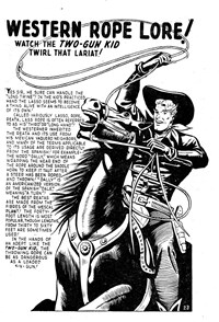 Western Rope Lore!, Page 1—Buffalo Bill (Transport, 1952? series) #23  ([1952?])