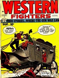 Western Fighters (Hillman, 1948 series) v1#10 — Untitled (Cover)