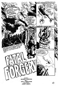 Shadows from Beyond (Murray, 1983?)  — Fatal Forgery (page 1)