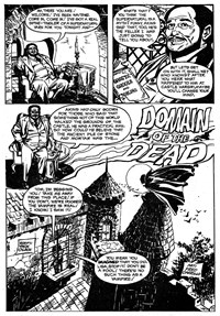 Shadows from Beyond (Murray, 1983?)  — Domain of the Dead (page 1)