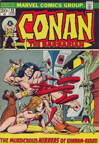 Conan the Barbarian (Marvel, 1970 series) #25 (April 1973)