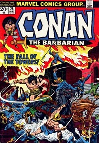Conan the Barbarian (Marvel, 1970 series) #26 (May 1973)