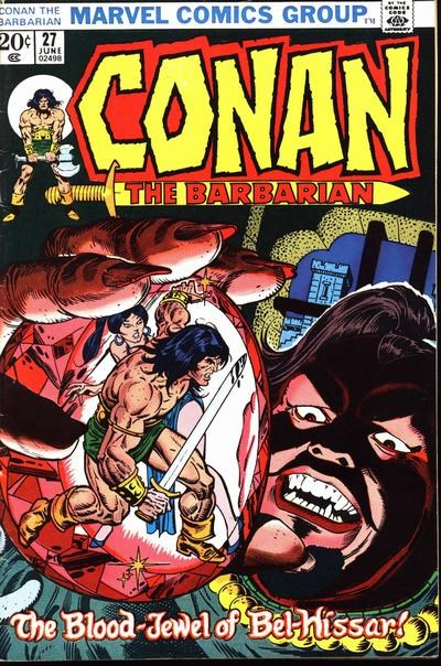 Conan the Barbarian (Marvel, 1970 series) #27 (June 1973)