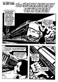 Ripley's Believe It or Not! True Ghost Stories (Rosnock/SPPL, 1975) #25173 — The Doomsday Express (page 1)
