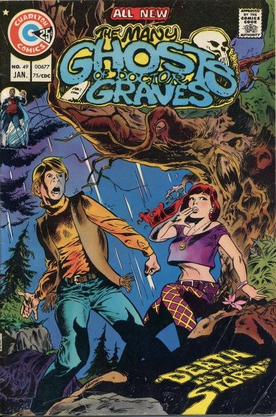 The Many Ghosts of Dr. Graves (Charlton, 1967 series) #49 (January 1975)