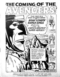 The Avengers (Horwitz, 1965 series) #1 — The Coming of the Avengers! (page 1)