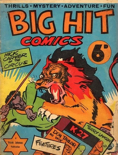 Big Hit Comics (Frank Johnson, 1944?)  ([1944?])