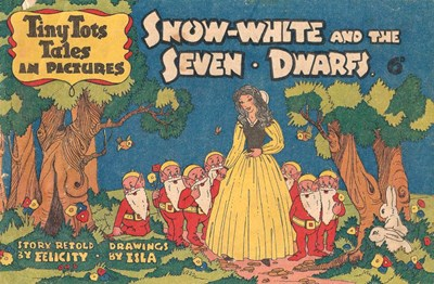 Tiny Tots Tales in Pictures (Lilliput, 1950? series)  ([1950?]) —Snow-White and the Seven Dwarfs