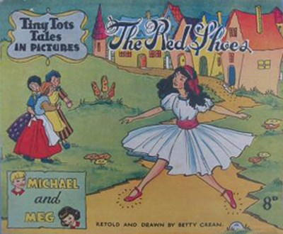 Tiny Tots Tales in Pictures (Lilliput, 1950? series)  ([1951?]) —The Red Shoes
