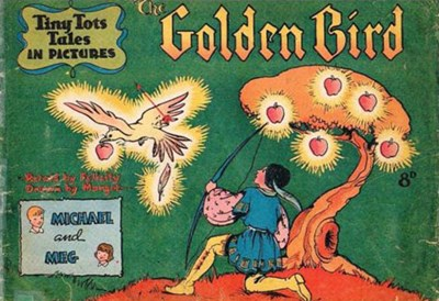 Tiny Tots Tales in Pictures (Lilliput, 1950? series)  (1951) —The Golden Bird