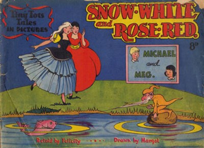 Tiny Tots Tales in Pictures (Lilliput, 1950? series)  ([1951?]) —Snow-White and Rose-Red
