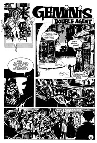 Climax Adventure Comic (KG Murray, 1974 series) #19 — Double Agent (page 1)