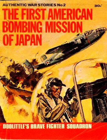 The First American Bombing Mission of Japan (Cover)