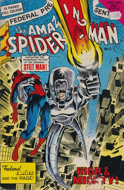 The Amazing Spider-Man (Federal, 1984 series) #5 ([March 1985?])
