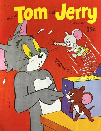 M-G-M's Tom and Jerry Comics