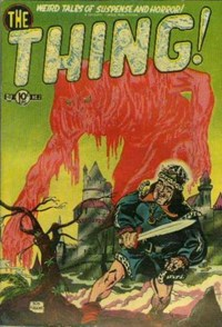 The Thing (Charlton, 1952 series) #2 (April 1952)