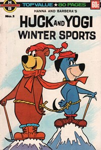 Hanna and Barbera's Huck and Yogi Winter Sports (Murray, 1978? series) #1