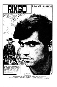 Ringo (Sport Magazine, 1967 series) #20 — Law or Justice (page 1)