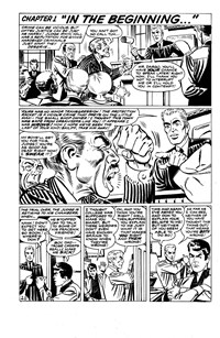 "Superman Presents World's Finest Comic Monthly (Colour Comics, 1965 series) #95 — Chapter 1 ""In the Beginning..."" (page 1)"