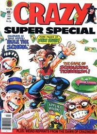Crazy Magazine (Marvel, 1973 series) #76 — Crazy Super Special