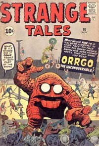 Strange Tales (Marvel, 1951 series) #90 — Orggo, the Unconquerable!