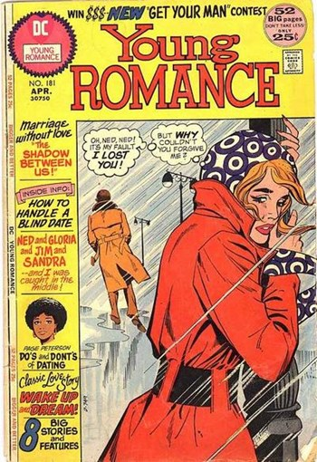 Young Romance (DC, 1963 series) #181 (April 1975)