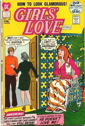 Girls' Love Stories (DC, 1949 series) #166 (February 1972)