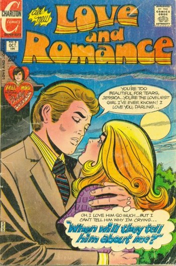 Love and Romance (Charlton, 1971 series) #8 (October 1972)