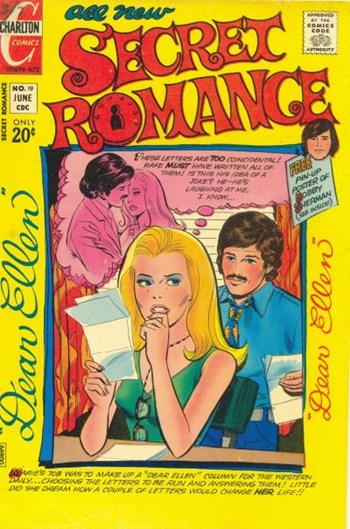 Secret Romance (Charlton, 1968 series) #19 (June 1972)
